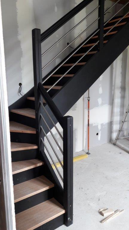 escalier marches en bobuche