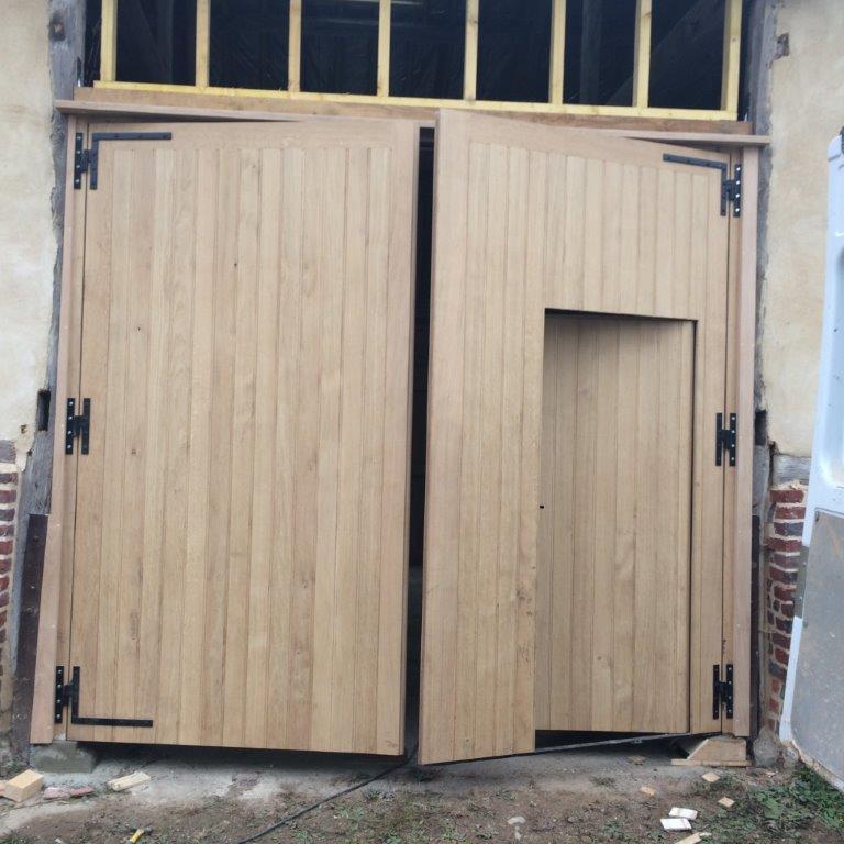 porte de garage rue
