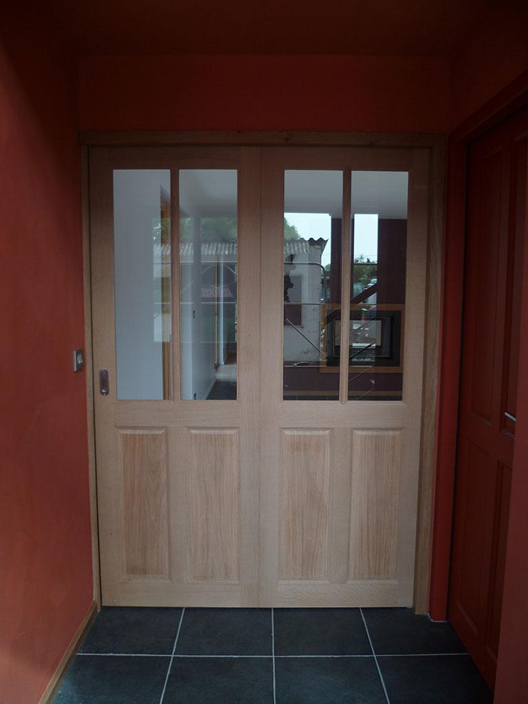 Porte interieure berck menuiserie charpente technibois for Menuiserie porte interieure