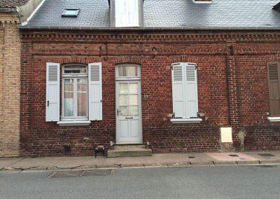 porte d entree bois rue